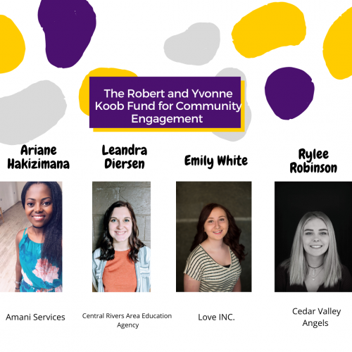 The Robert and Yvonne Koob Fund Community Engagement Recipients