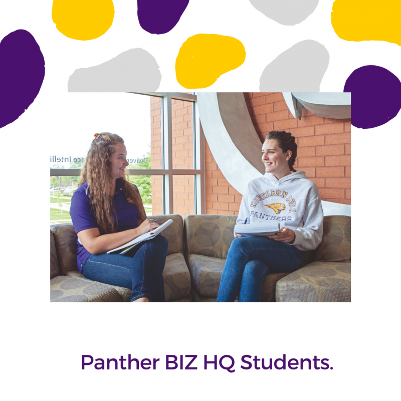 UNI Panther Business HQ Students